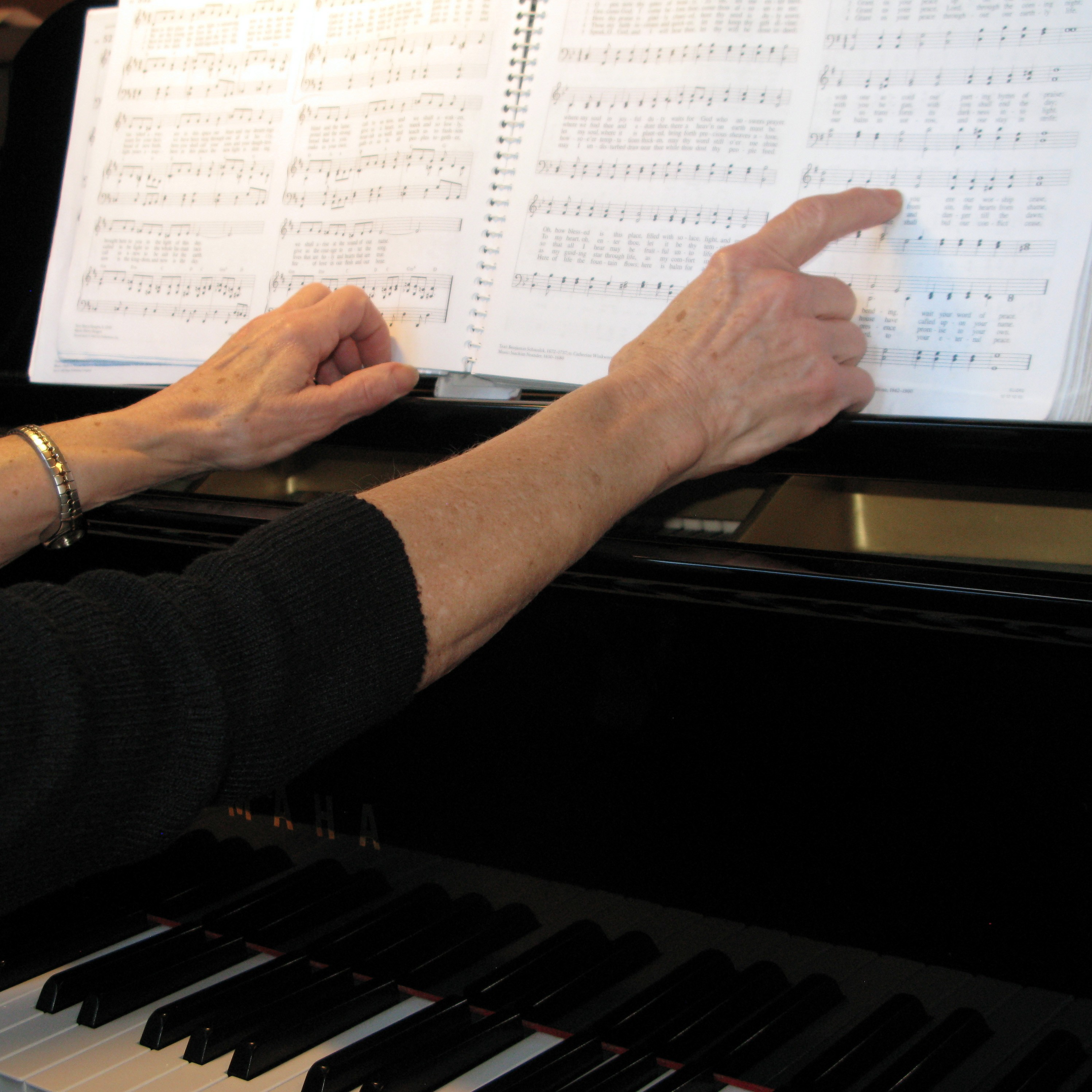piano hands with music edited